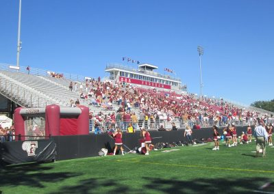 Jack Coffey Field, Main Stands