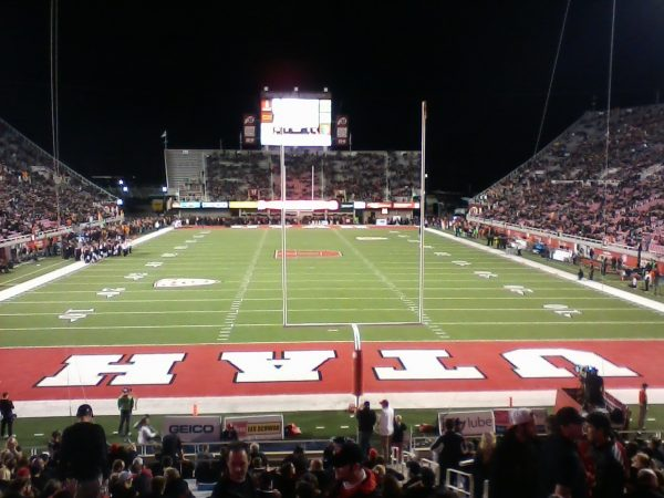 End Zone View at Rice-Eccles Stadium