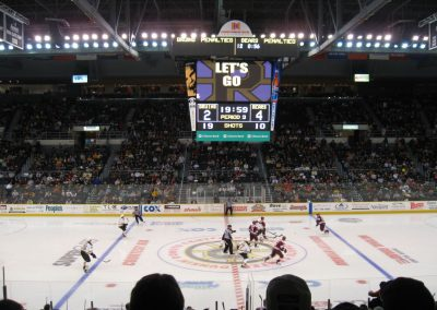 Providence Bruins Face Off
