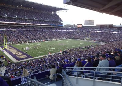 Alaska Airlines Field at Husky Stadium, Cantilevered Roofs
