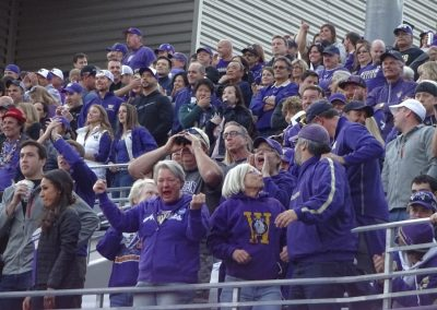 Alaska Airlines Field at Husky Stadium, Washington Huskies Fans Cheering on their Team