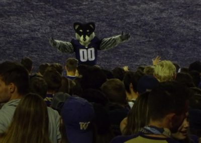 Alaska Airlines Field at Husky Stadium, Washington Huskies Mascot