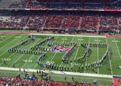 Arthur L. Williams Stadium, Liberty Band's Signature Formation