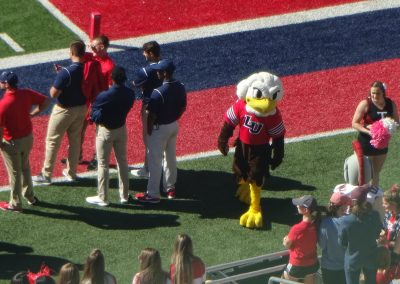 Arthur L. Williams Stadium, Liberty Flames Mascot