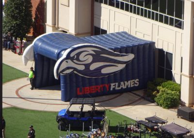 Arthur L. Williams Stadium, Liberty Flames Player Tunnel