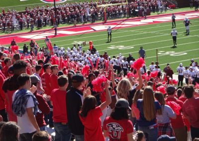 Arthur L. Williams Stadium, Liberty Flames Student Section