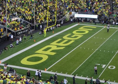 Autzen Stadium, End Zone