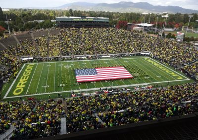 Autzen Stadium, Interior