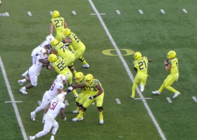 Autzen Stadium, Oregon Ducks on Offense