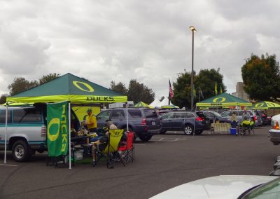 Autzen Stadium, Tailgating