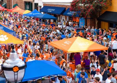 Downtown Tigertown on Gameday