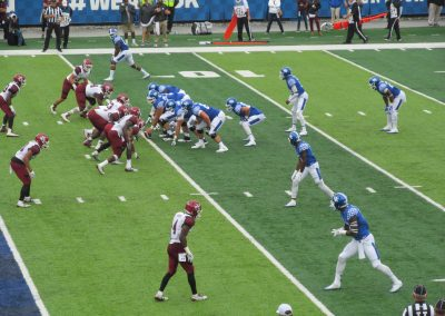 Game Action at Kroger Field