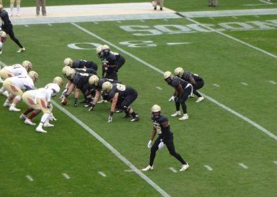 Gibbs Stadium, Wofford Terriers in Action
