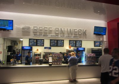 Beef on Weck Concession at New Era Field