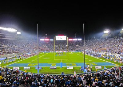 End Zone View at the Rose Bowl