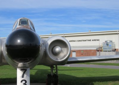 Constantine Arena Guarded by Avro CF-100 Canuck
