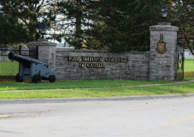 Royal Military Collage of Canada Signage