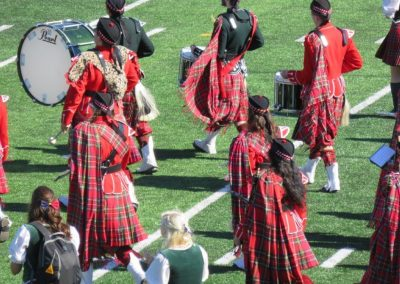 Queen's Gaels Band at Richardson Stadium