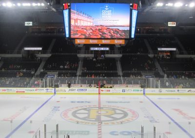 Center Ice View at Dunkin Donuts Center