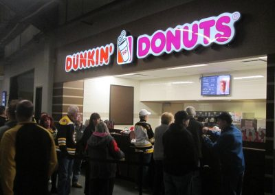 Dunkin' Donuts Stand at Dunkin' Donuts Center