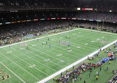 Mercedes-Benz Superdome Interior