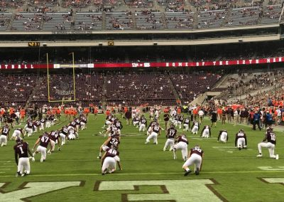 Kyle Field, Texas A&M Aggies Warm Up