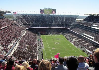 Kyle Field Upper Deck View
