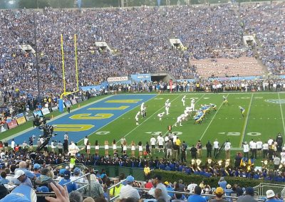 UCLA Game Action at the Rose Bowl