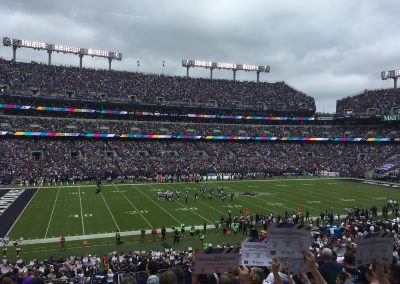 Stadium View From Lower Deck