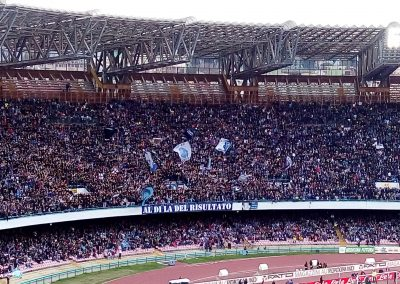 Napoli Supporters at Stadio San Paolo