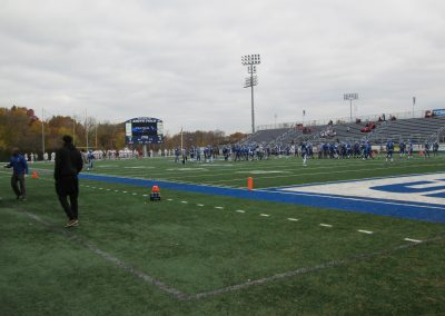 Arute Field, View from the End Zone