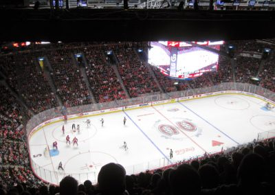 Game Action at Bell Centre