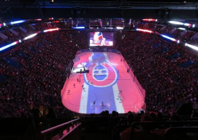 Pregame Show at Bell Centre