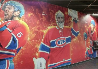 Carey Price Mural at Bell Centre