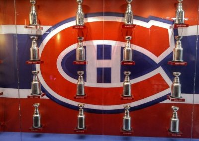 Stanley Cup Display at Bell Centre