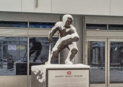 Maurice Richard Statue at Bell Centre
