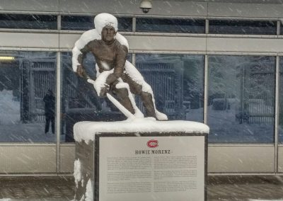 Howie Morenz Statue at Bell Centre