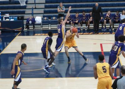Queen's Gaels Basketball Game Action