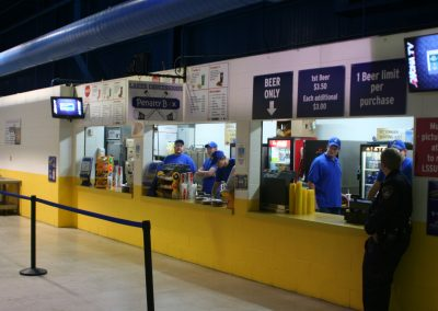 Taffy Abel Arena Concessions