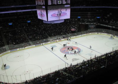 Faceoff at Barclays Center