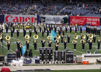 Bands Perform at Yankee Stadium during the Pinstripe Bowl