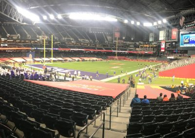 Cheez-It Bowl, Panoramic View of Field Setup inside Chase Field