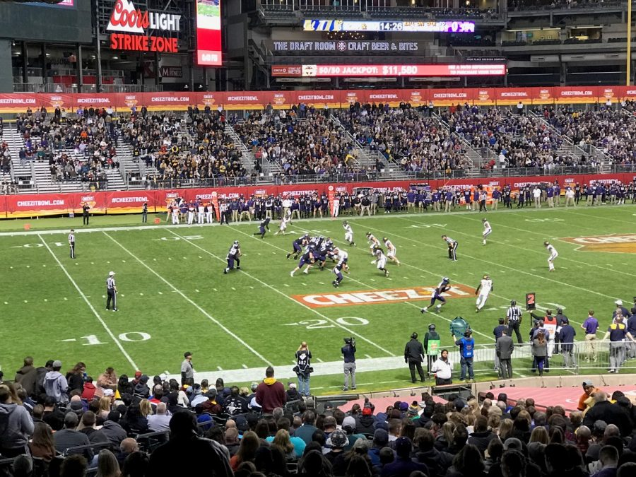 Cheez-It Bowl at Chase Field, Game Action