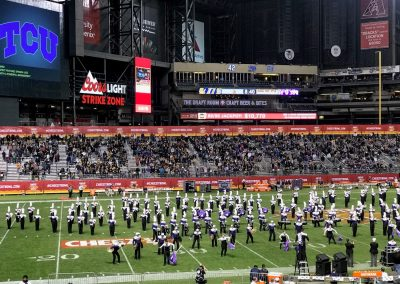 Cheez-It Bowl at Chase Field, Halftime Performances by the Bands