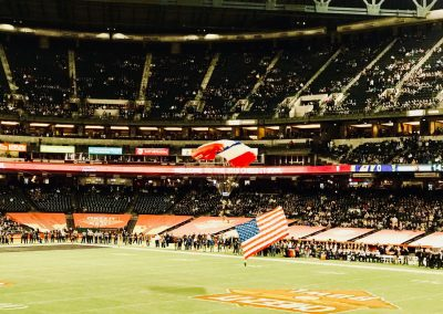 Cheez-It Bowl at Chase Field, Pre-game Parachutists
