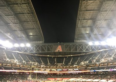 Cheez-It Bowl at Chase Field, Pre-game Roof Opening