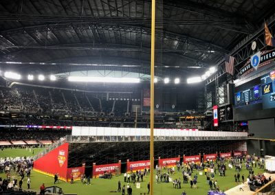 Cheez-It Bowl at Chase Field, View from Right Field Foul Pole
