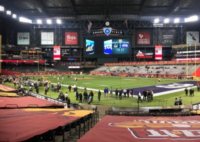 Cheez-It Bowl at Chase Field, View of Field from behind Home Plate