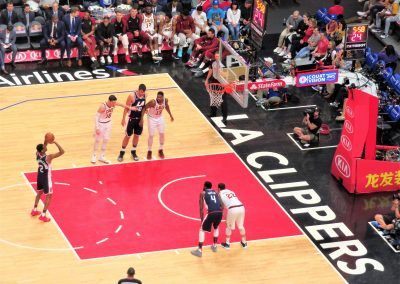 Staples Center - Clippers at the Charity Line