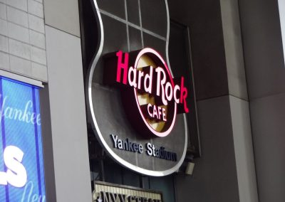 Hard Rock Café inside Yankee Stadium, Home of the Pinstripe Bowl